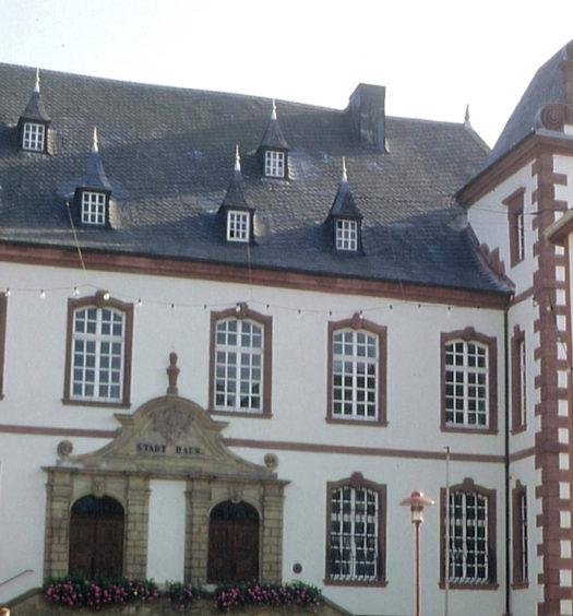 Rathaus von Merzig Deutschland
