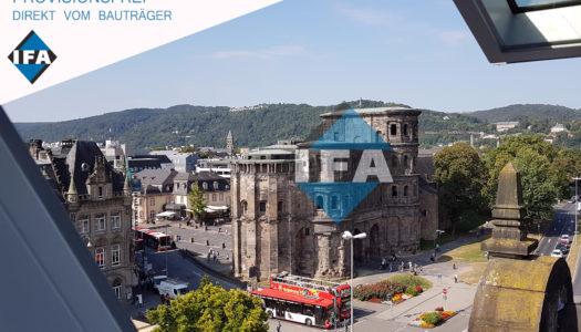 Wohnen in direkter Citylage mit Blick auf die Porta Nigra