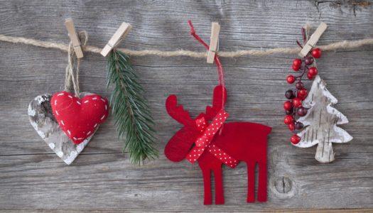 Weihnachtsdekoration auch ohne Tannenbaum?