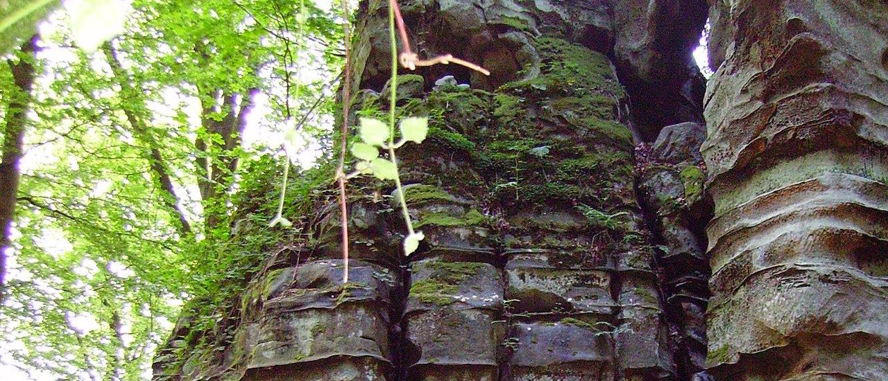 Felsen in der Natur