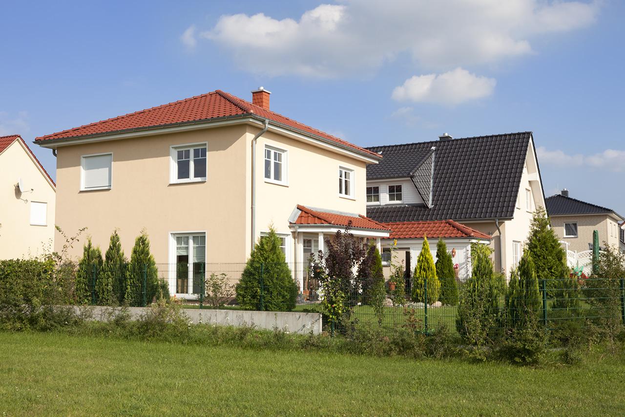 Einfamilienhäuser in Deutschland
