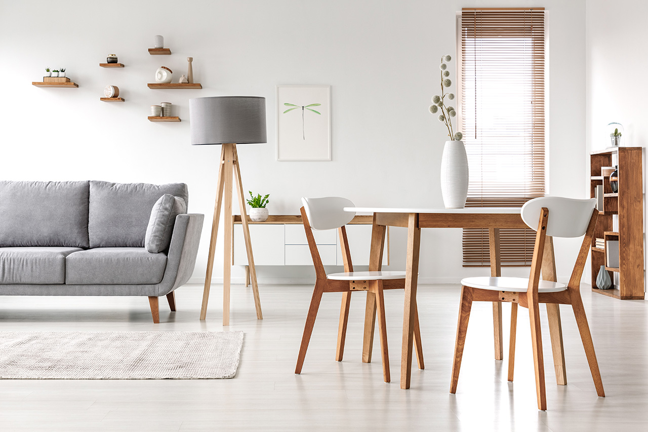 Möbel im Wohnzimmer