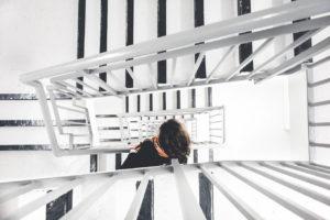 Regeln für das Treppenhaus