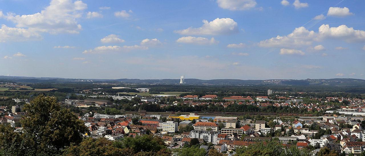Blick auf Homburg