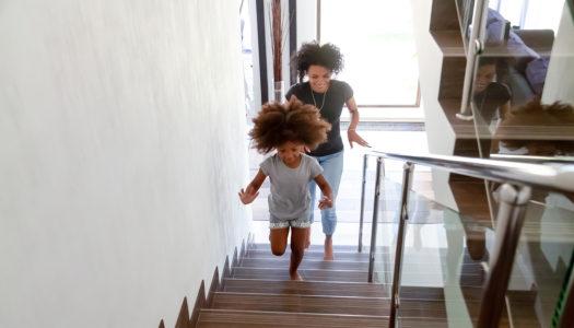 Welche Regeln gelten im Treppenhaus?